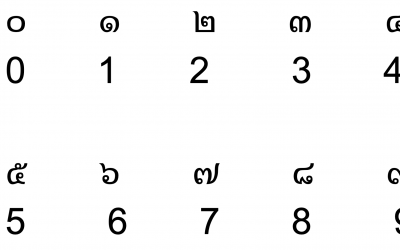 Thai numbers – Complete explanation