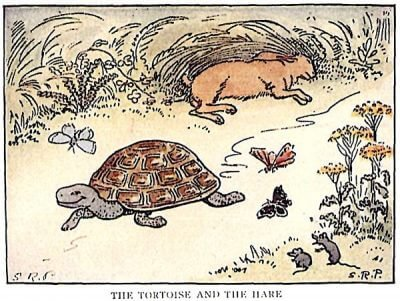 The tortoise and the hare - Thai listening practice
