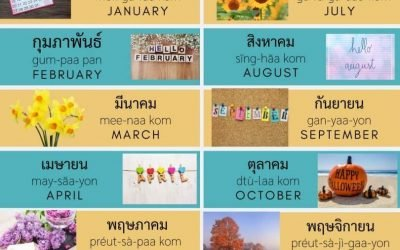 Months in Thai – Everything you should know