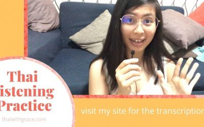 What if…you don't have money to take a bus back home (Thai listening practice)