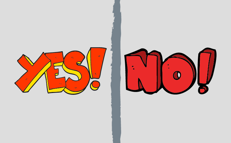 Yes and No in Thai