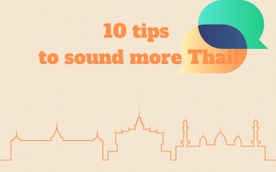 10 tips to sound more Thai