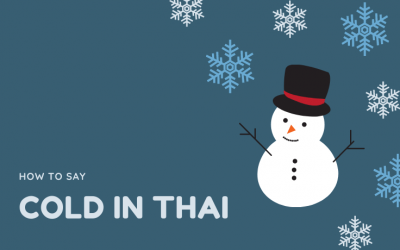 How to say cold in Thai | Difference between หนาว and เย็น