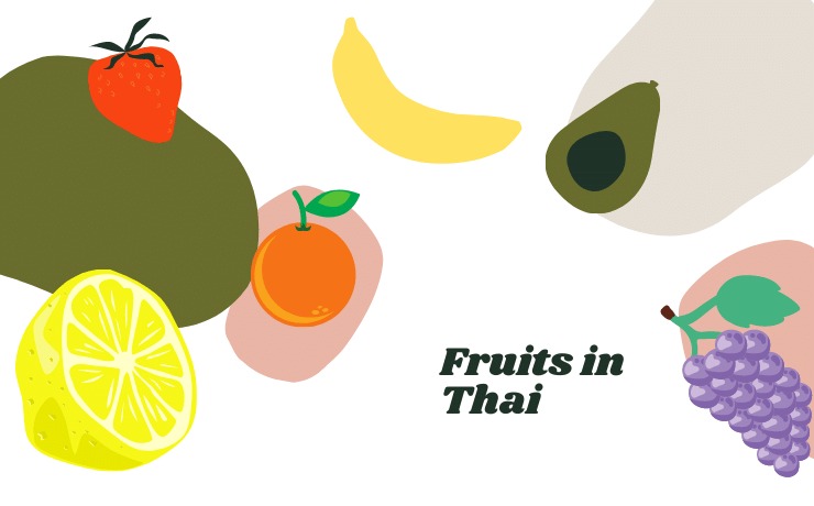 Fruits in thai