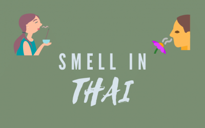 How to talk about smell in Thai 👃