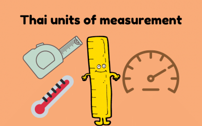 Thai units of measurements