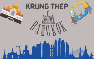 What does Krung Thep mean?